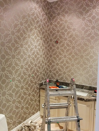 Wallpaper Installation & Home Painters in Toronto - CAM Painting - Gallery Image 4