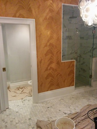 Wallpaper Installation & Home Painters in Toronto - CAM Painting - Gallery Image 9