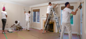 Interior Painting Toronto Living Room - Toronto Home Painting - House Painters, CAM Painters