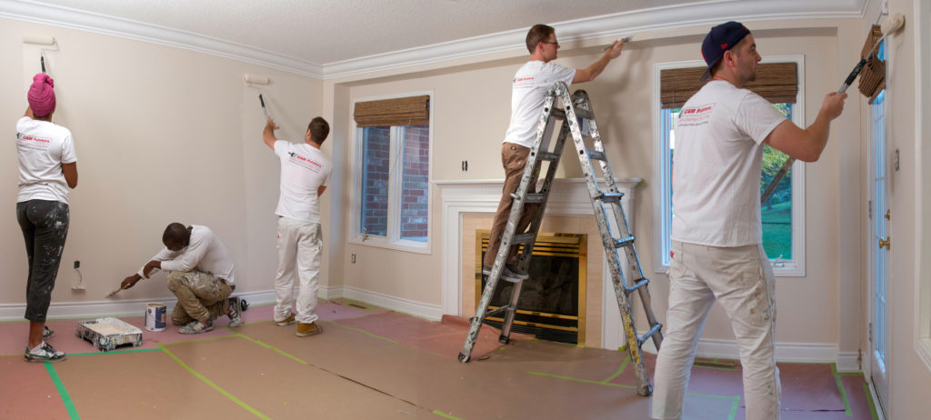 paint and primer in one, toronto house painter, interior painting