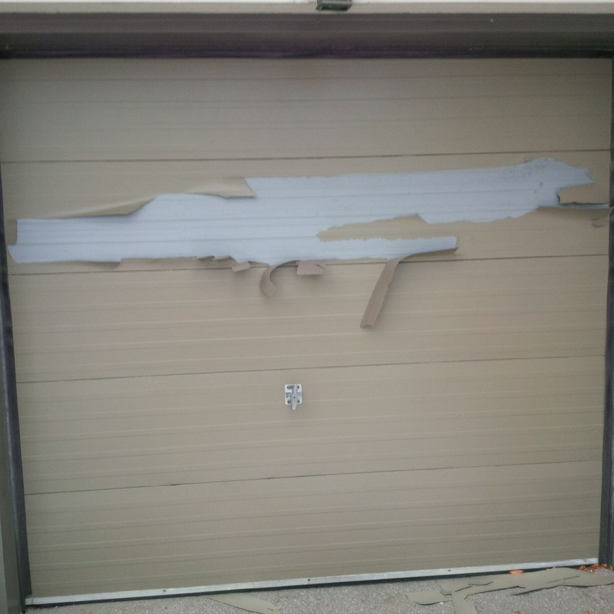 What's making the paint peel on my exterior?