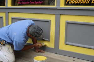 Toronto house painter, interior painting, exterior painting, wallpaper installation