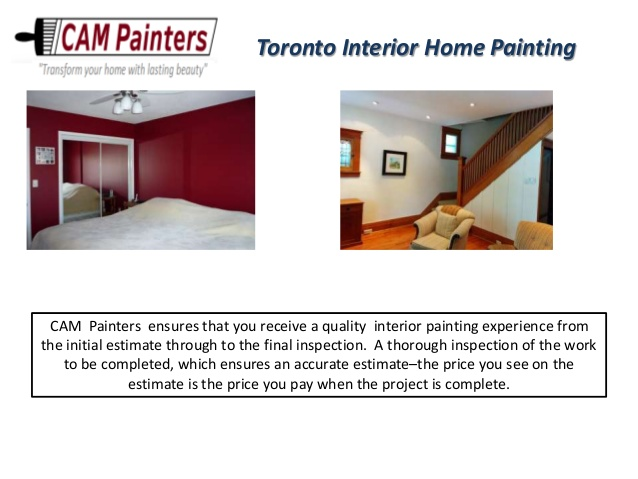 Toronto Painting Contractors Cost Why Does It Vary So Much CAM Classy Interior Home Painters Property