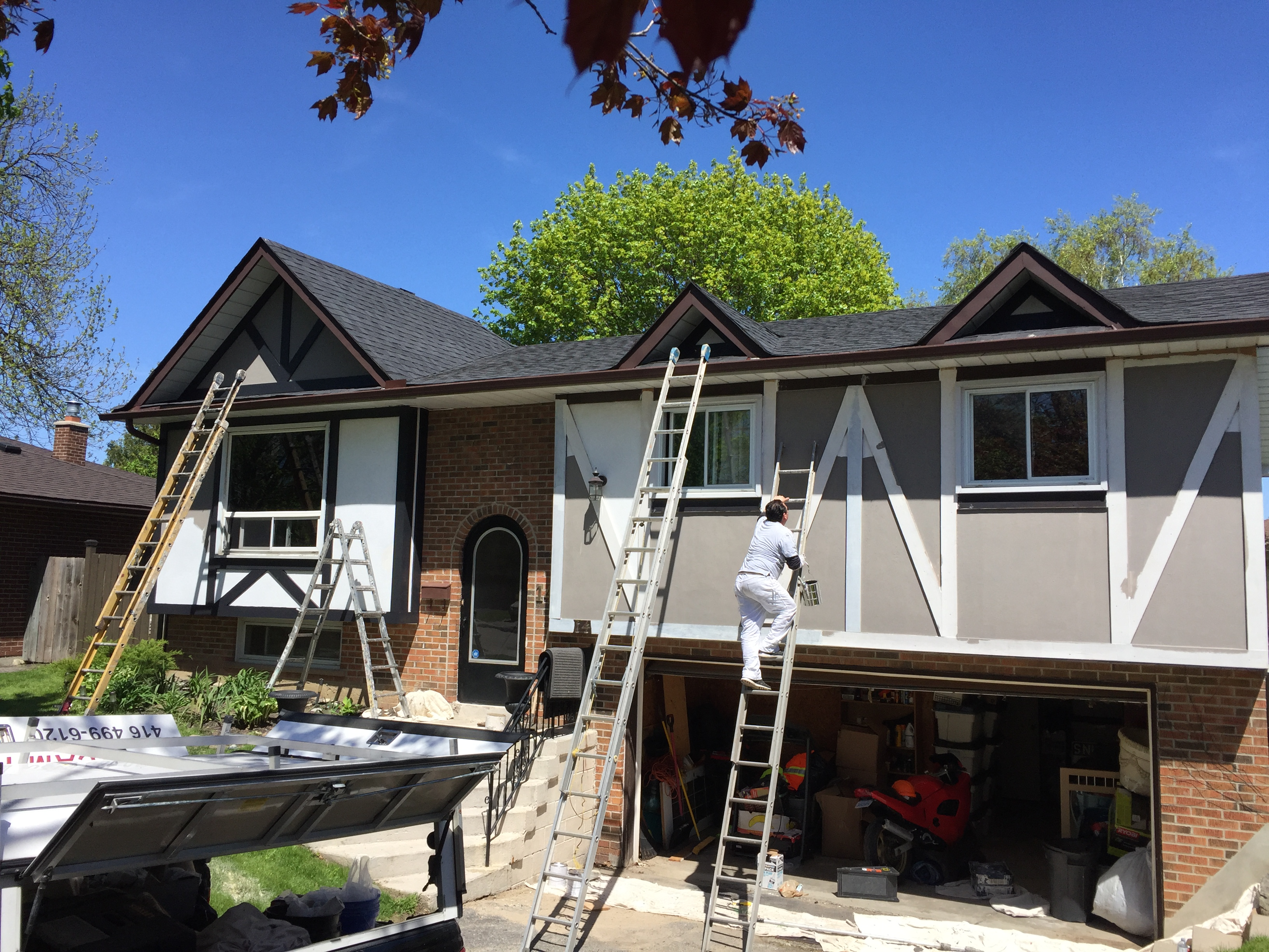 Exterior Painting Toronto House Too Cold