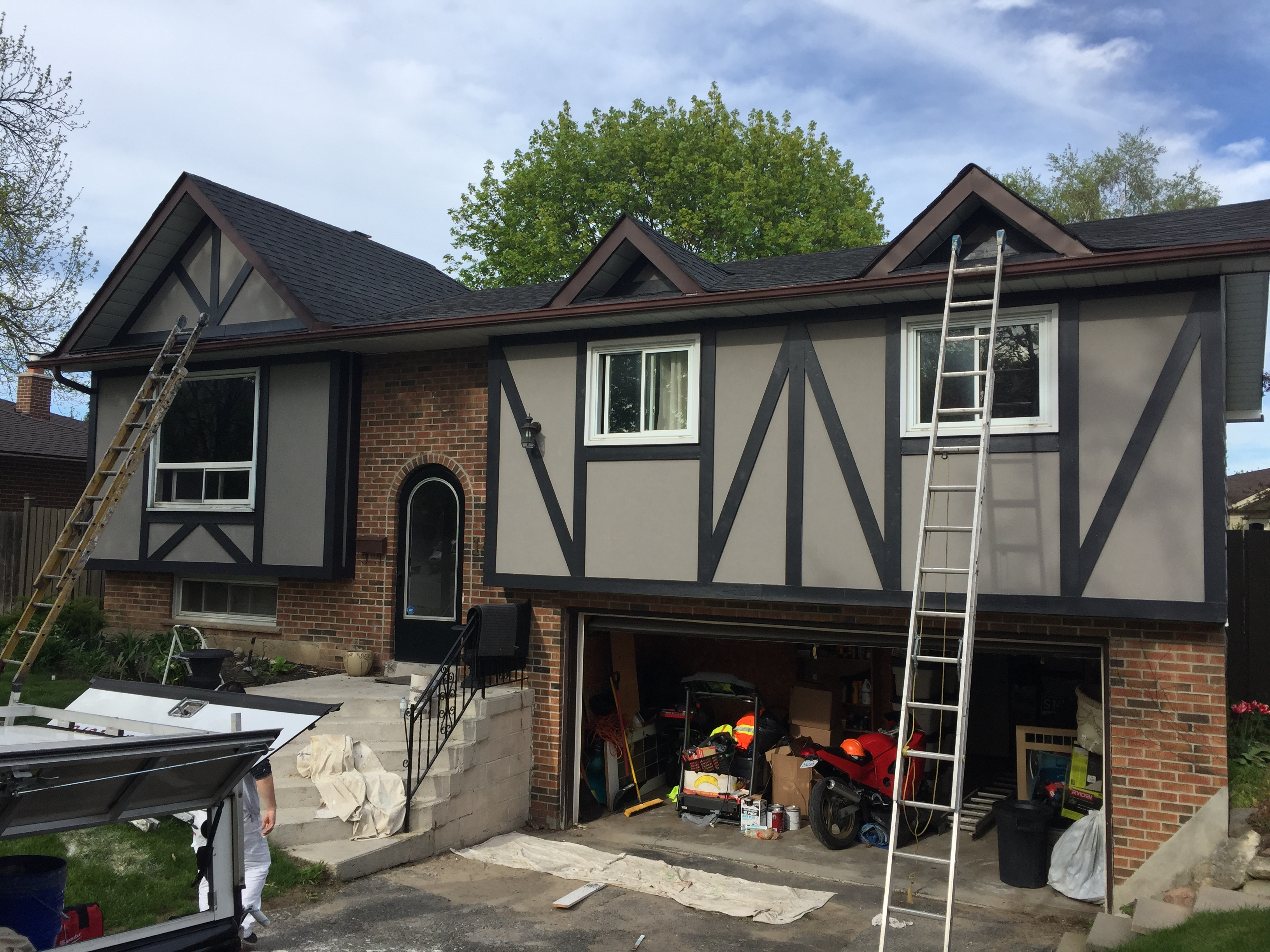 Exterior Painting In Below  Degrees