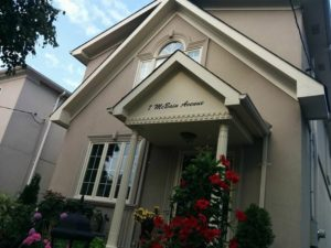 scripted address, Toronto house painter, exterior painting