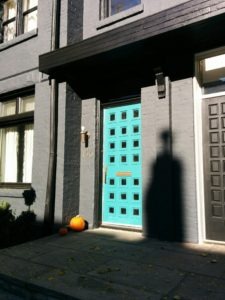 Front door, Toronto House painting, exterior painting