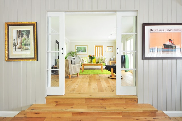 painted panelling, Toronto house painter, interior painting