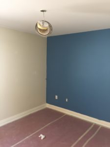 bold colours, toronto house painter, interior painting
