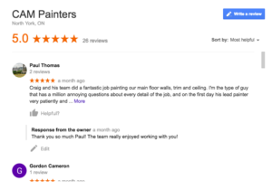 reliable painter, toronto house painter, interior painting, exterior painting, wallpaper installation
