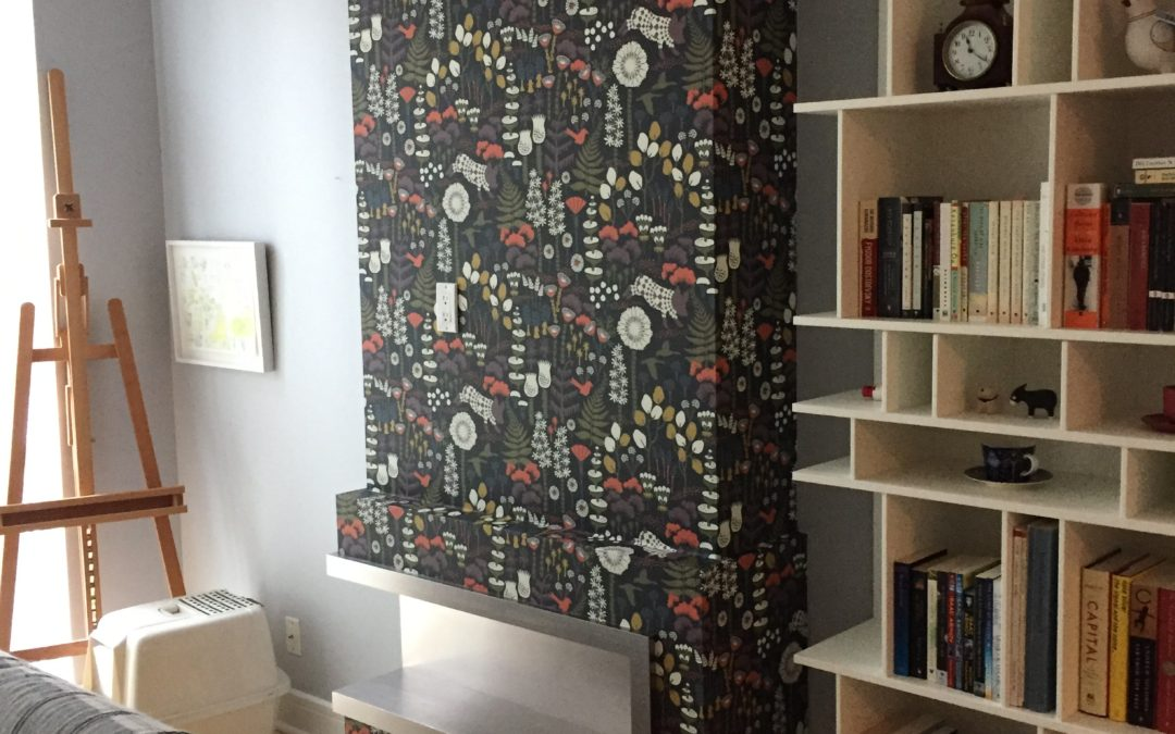 The walls are uneven in my Toronto home, can I still wallpaper?