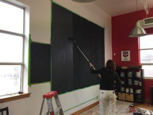 chalkboard calendar, toronto house painter