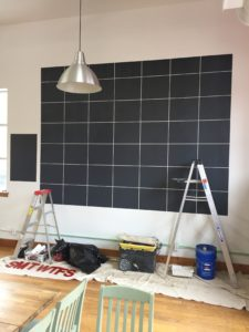 chalkboard calendar, chalkboard paint, toronto house painter
