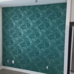 toronto wallpaper installation, accent wall