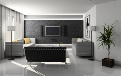 Wallpapered Walls and Flat Screen TV's – Which do you install first?